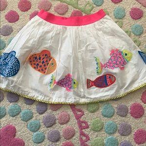 Mini Boden appliqué skirt 6/7